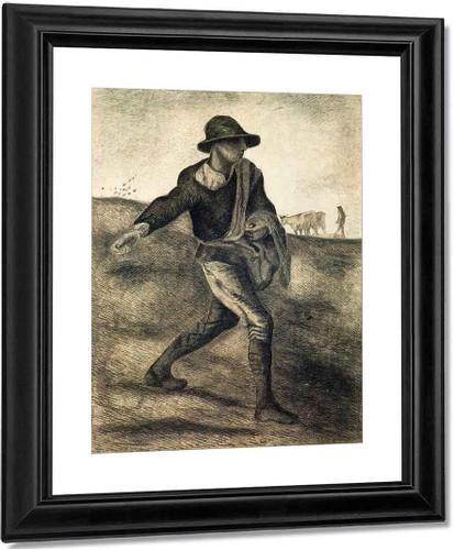 A Sower  By Vincent Van Gogh