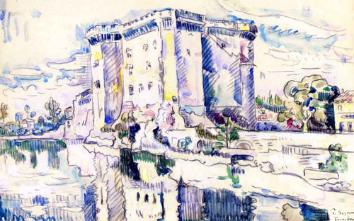 Tarascon By Paul Signac