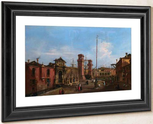 The Arsenal, Venice By Francesco Guardi