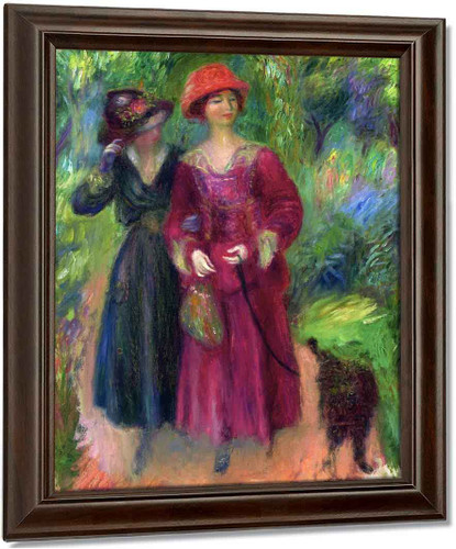 A Stroll In The Park By William James Glackens