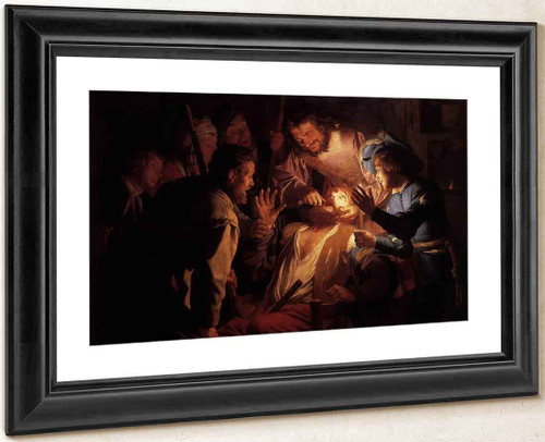 The Dentist By Gerard Van Honthorst By Gerard Van Honthorst
