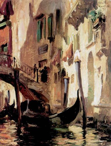 A Venetian Scene By Frederick Arthur Bridgman