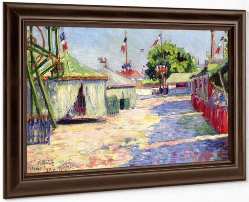 The Festival At Asnieres By Paul Signac
