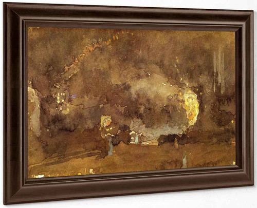 The Fire Wheel By James Abbott Mcneill Whistler American 1834 1903