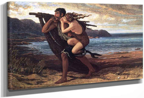 The Fisherman And The Mermaid By Elihu Vedder