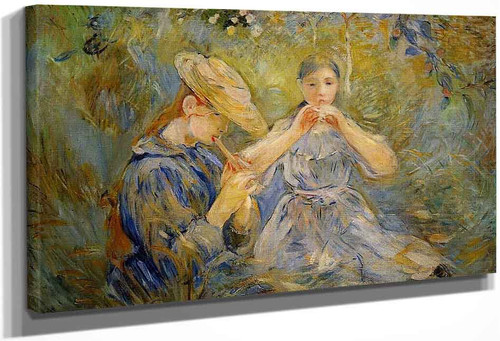 The Flageolet1 By Berthe Morisot
