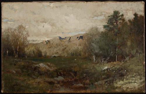 The Glen By Alexander Helwig Wyant