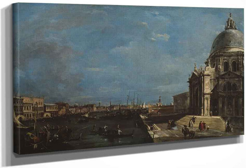 The Grand Canal, Venice By Francesco Guardi
