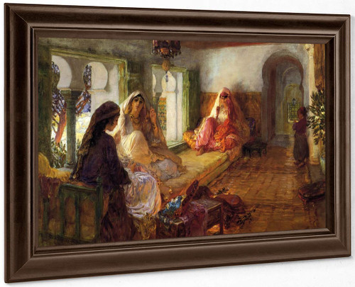 The Harem By Frederick Arthur Bridgman