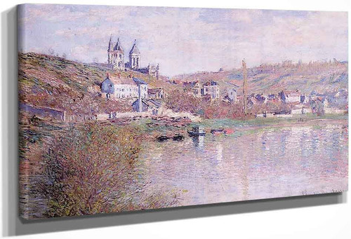 The Hills Of Vetheuil By Claude Oscar Monet