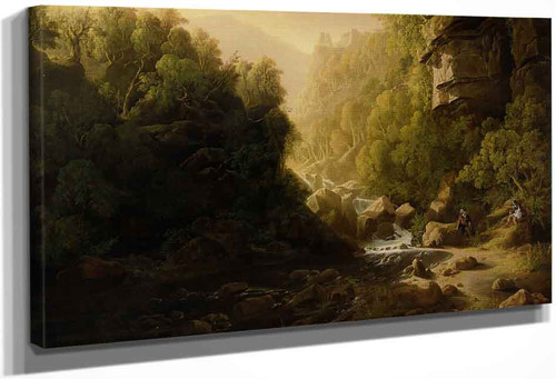The Mountain Torrent By Francis Danby