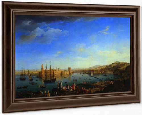 The Port Of France, Marseille By Claude Joseph Vernet
