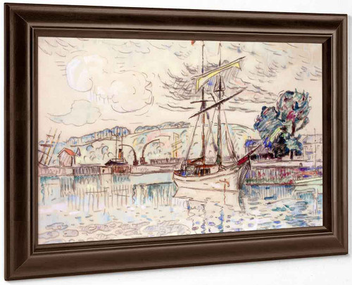 The Port Of Paimpol By Paul Signac