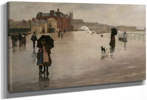 The Rain By Norman Garstin