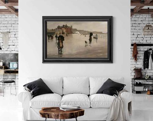The Rain By Norman Garstin