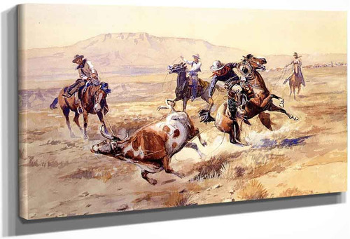 The Renegade By Charles Marion Russell