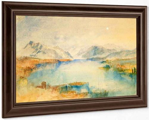 The Rigi, Lake Lucerne By Joseph Mallord William Turner