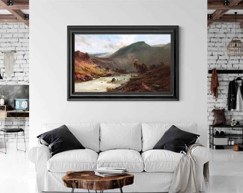 The River Dee By Alfred De Breanski, Sr.
