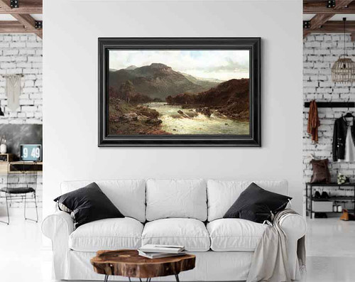 The River Tummel By Alfred De Breanski, Sr.