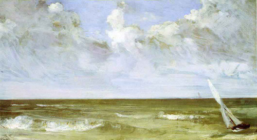 The Sea By James Abbott Mcneill Whistler American 1834 1903