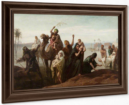 The Sudden Rising Of The Nile By Frederick Goodall