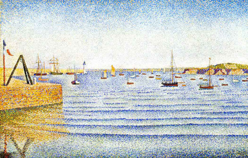 The Swell, Portrieux, Opus 190 By Paul Signac