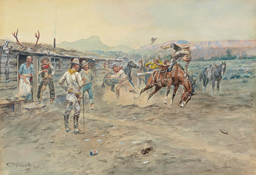 The Tenderfoot by Charles Marion Russell