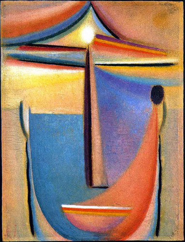 Abstract Head 10 By Alexei Jawlensky By Alexei Jawlensky
