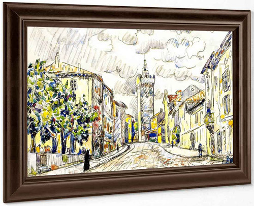 The Tower, Viviers By Paul Signac