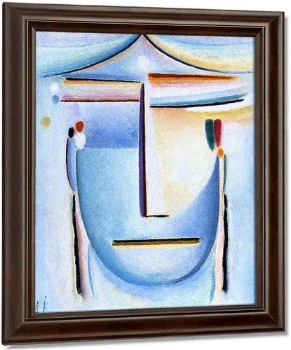 Abstract Head 11 By Alexei Jawlensky