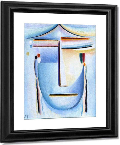 Abstract Head 11 By Alexei Jawlensky By Alexei Jawlensky