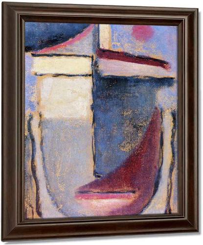 Abstract Head 12 By Alexei Jawlensky