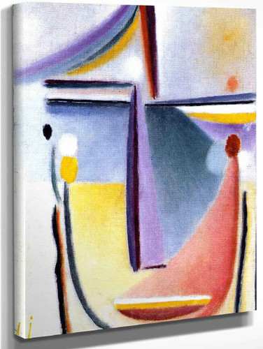 Abstract Head 16 By Alexei Jawlensky By Alexei Jawlensky