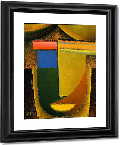Abstract Head Africa By Alexei Jawlensky By Alexei Jawlensky