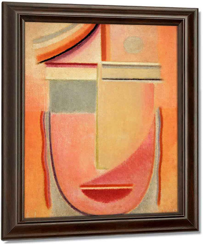 Abstract Head Morning By Alexei Jawlensky