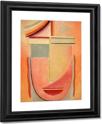 Abstract Head Morning By Alexei Jawlensky By Alexei Jawlensky