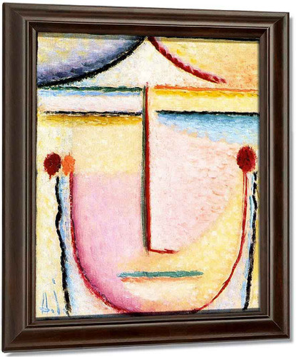 Abstract Head Spring By Alexei Jawlensky