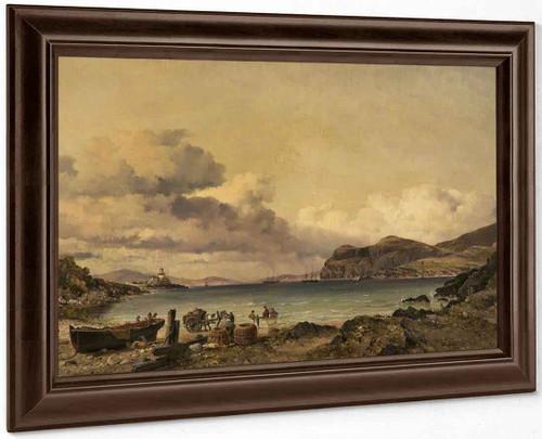 Valentia Bay, Ireland By Edward William Cooke, R.A.