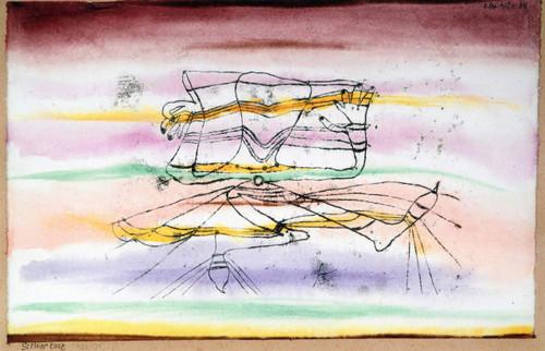 Veil Dance By Paul Klee