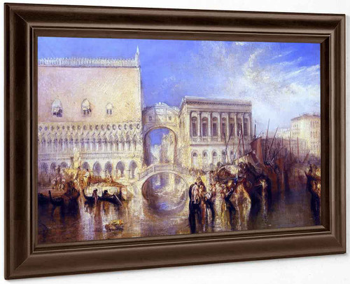 Venice, The Bridge Of Sighs By Joseph Mallord William Turner