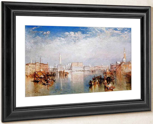 Venice, The Ducal Palace, Dogana, And Part Of San Giorgio By Joseph Mallord William Turner