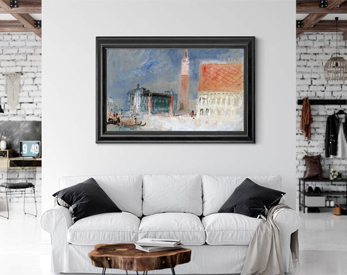 Venice, The Piazzetta And The Doge's Palace From The Bacino By Joseph Mallord William Turner