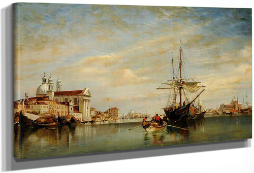 Venice By Edward William Cooke, R.A.