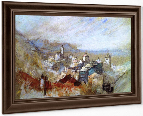 View Of Bregenz By Joseph Mallord William Turner