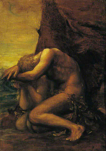 Adam And Eve By George Frederic Watts English 1817 1904