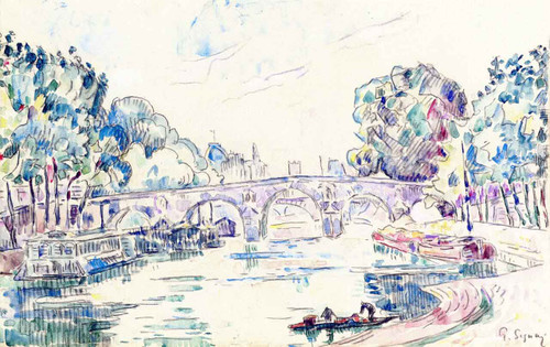 View Of Paris By Paul Signac