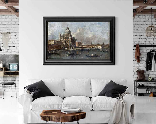 View Of The Salute, Venice By Francesco Guardi