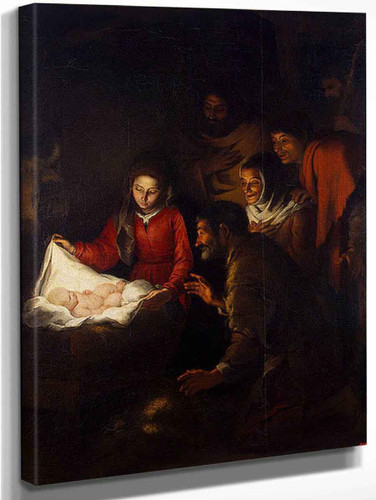 Adoration Of The Shepherds 3 By Bartolome Esteban Murillo