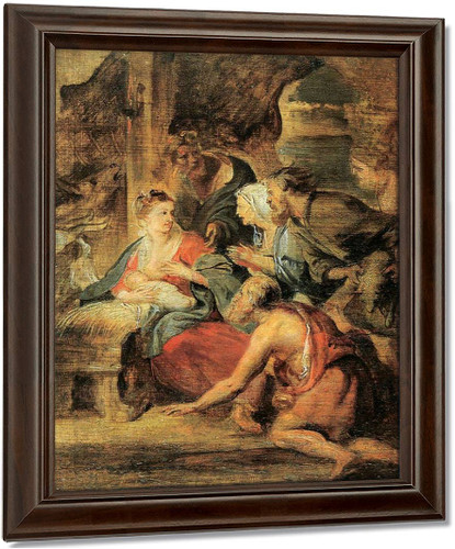 Adoration Of The Shepherds 46 By Peter Paul Rubens