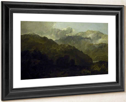Welsh Mountain Landscape By Joseph Mallord William Turner